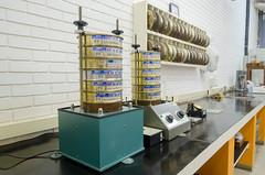 Laboratório de Mecânica dos Solos - Foto: Roberto Caloni