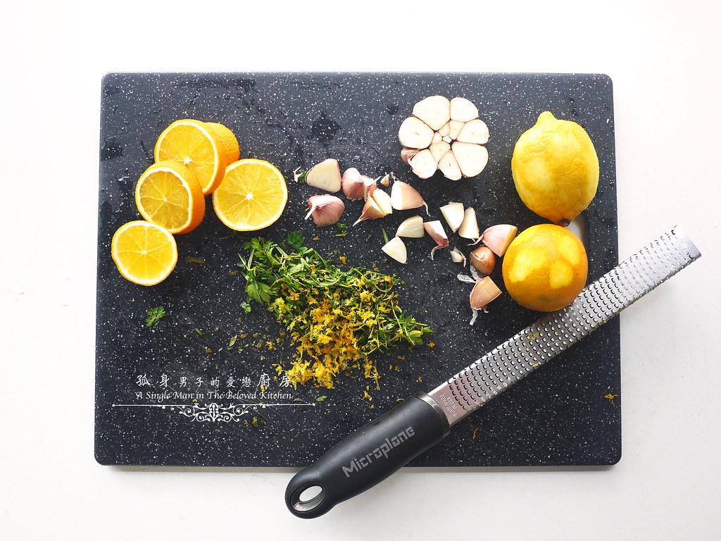 孤身廚房-橄欖柑橘香烤赤鯮4