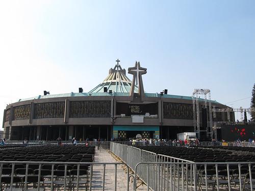 Mexico City: la Nouvelle Basilique Notre-Dame de Guadalupe