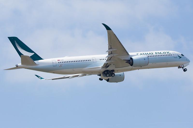 Cathay Pacific Airbus A350-941 cn 029 F-WZFX // B-LRA