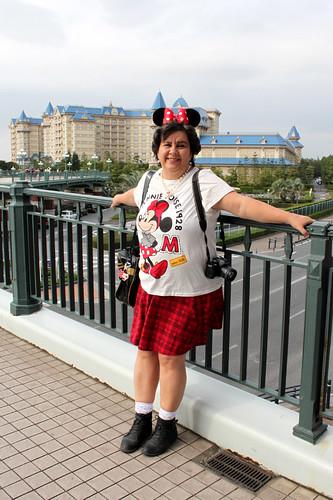 Mom with Disney Ears
