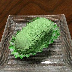 笹屋さんのうぐいす餅。和菓子が復活していました!