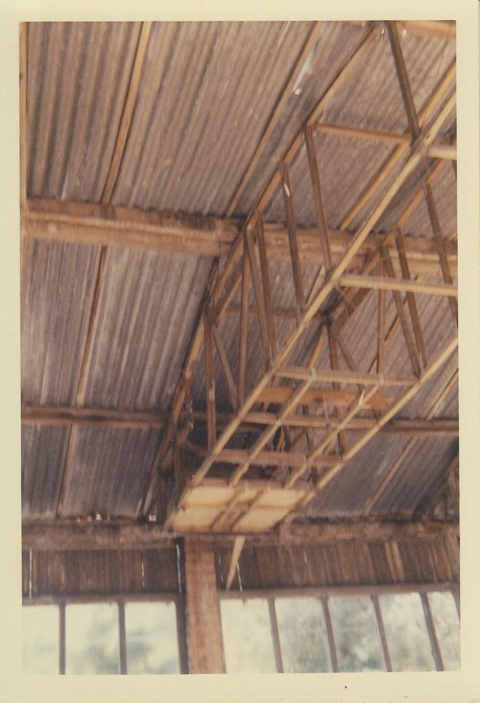 Workshop roof truss 3