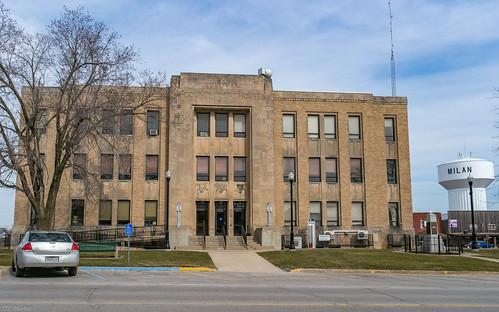 milan architecture us unitedstates missouri courthouse sullivancounty