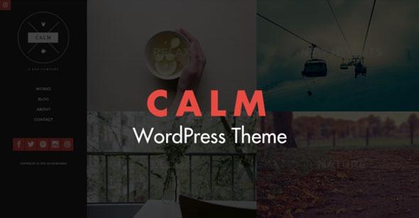Calm v1.3 – Responsive WordPress Theme