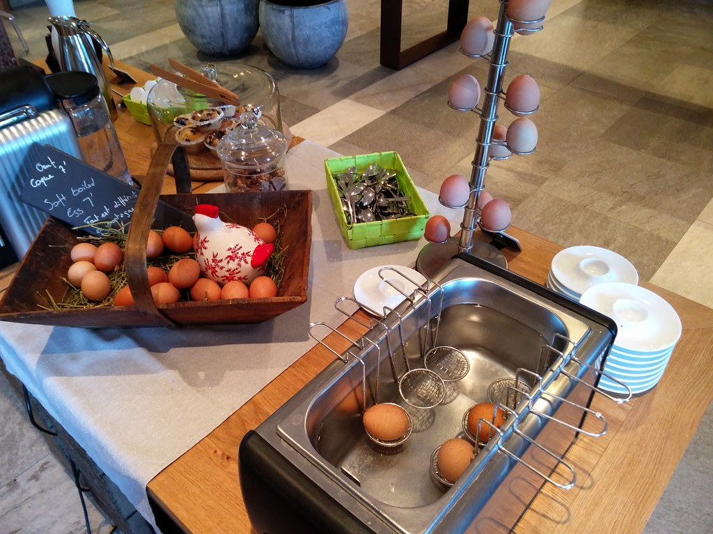 Boil-your-own egg