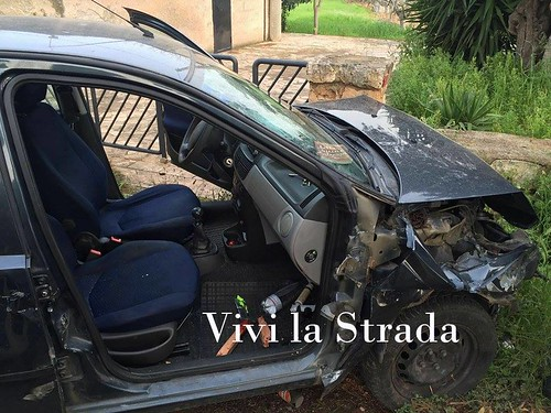 incidente polignano via castellana