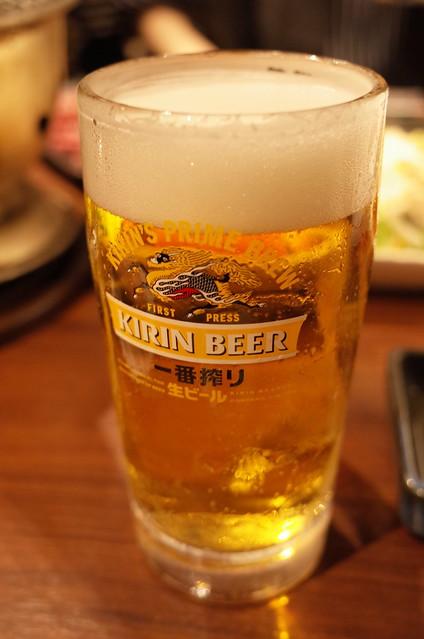 キリン一番搾り生 韓菜園 焼肉 本家 Ponga 10