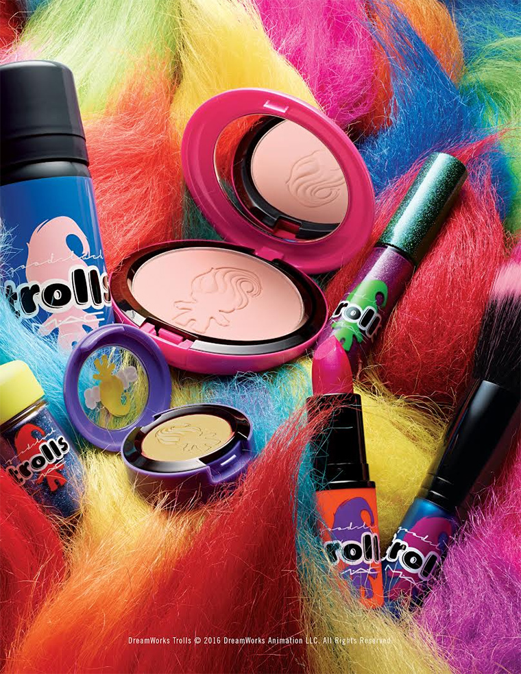 MAC Good Luck Trolls Collection for Summer 2016