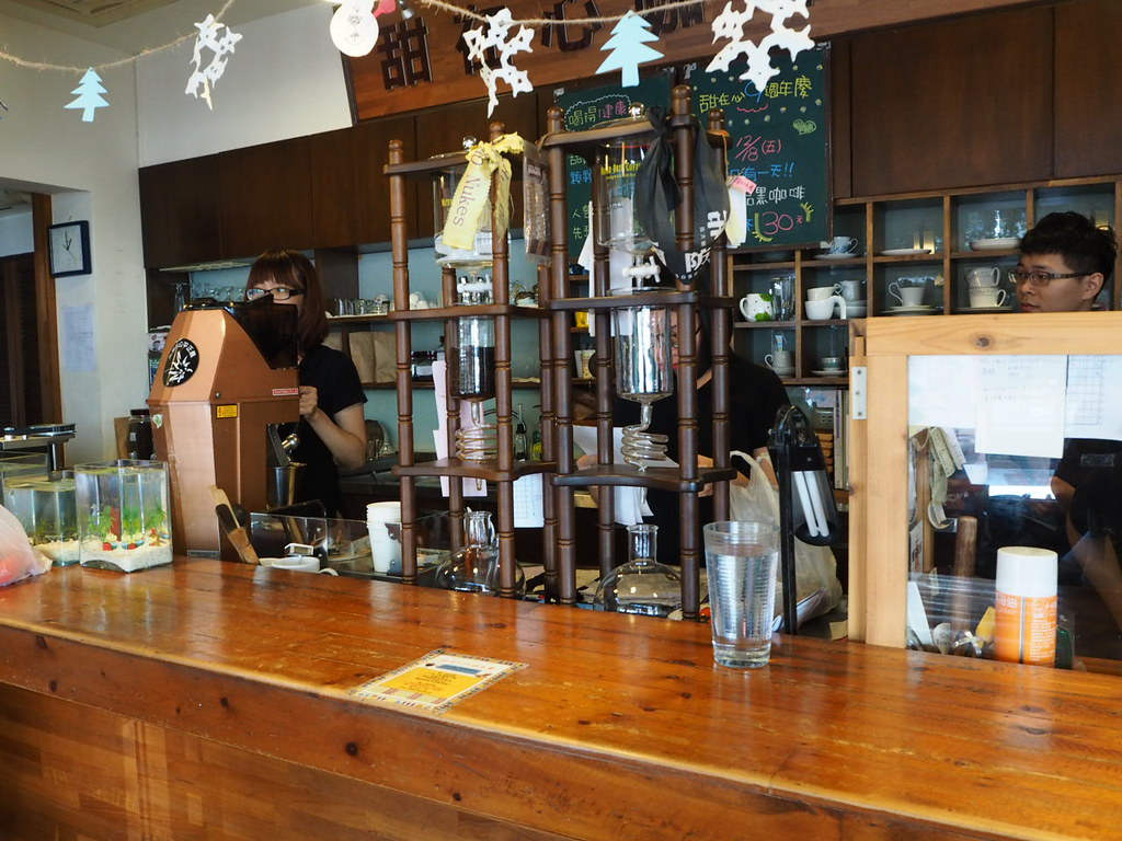 甜在心咖啡館の店内の様子