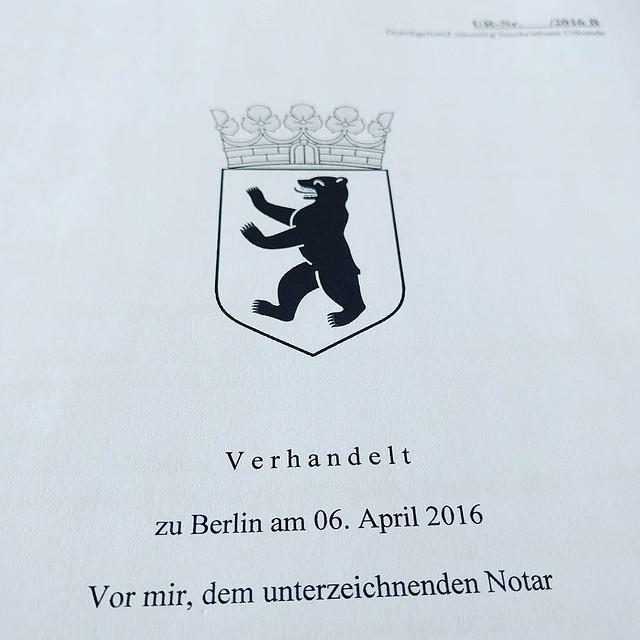 Dearsouvenir - making it official