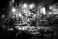 Street barbecue in Shiping, China