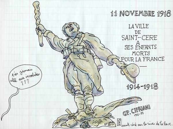 monument aux mort 14-18