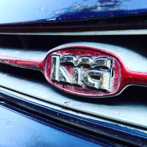 Kia Sephia - Old logo