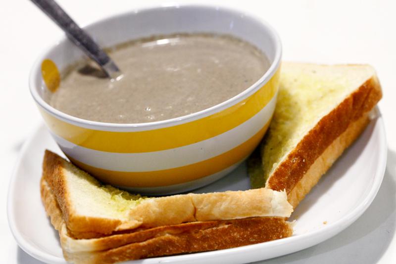Humble Chef Mushroom Soup