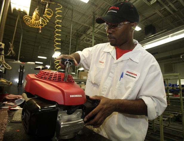 Honda Troy Ohio >> From Inside the Honda Plant, Swepsonville, NC - Lawn Mower Forums : Lawnmower Reviews, Repair ...