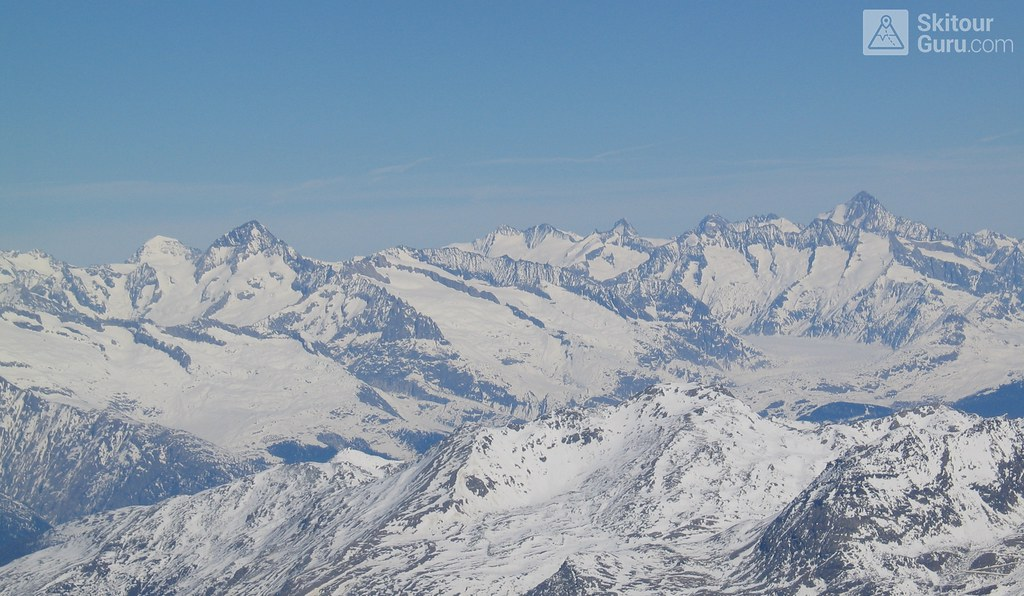 Strahlhorn Walliser Alpen / Alpes valaisannes Schweiz foto 24