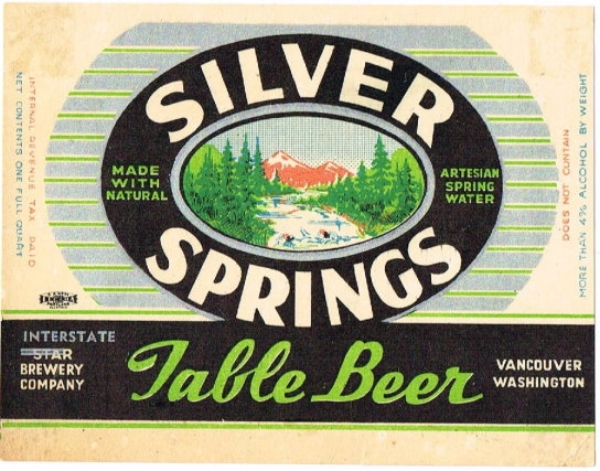 Silver-Springs-Table-Beer-Labels-Interstate-Brewery-Company