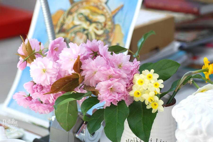 Spring in my studio