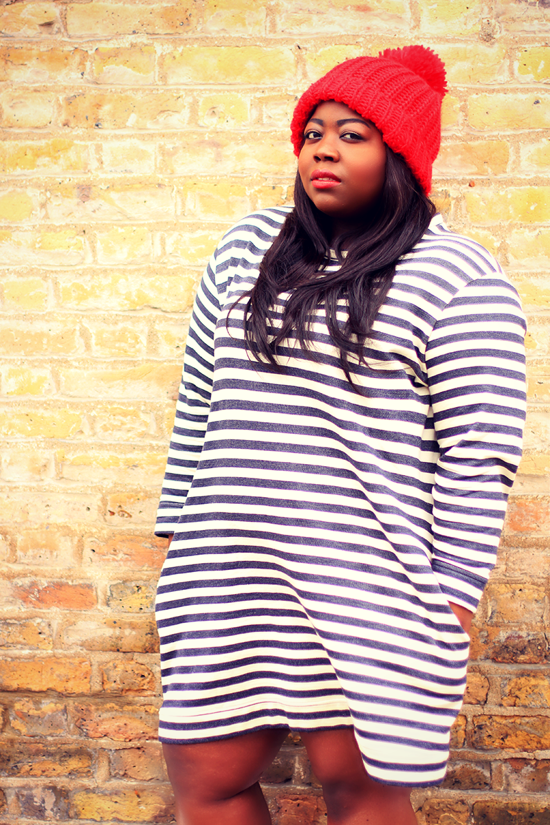 ASOS Curve Striped Dress 7