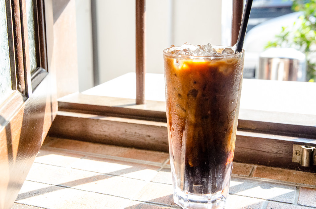 Hon Kei Food Corner's coffee ice