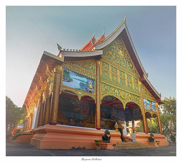 Temple, Laos, Vientiane