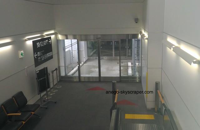香港エクスプレス 福岡空港のゲートへ