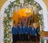 Peterstone Court Wedding Arch December 2015