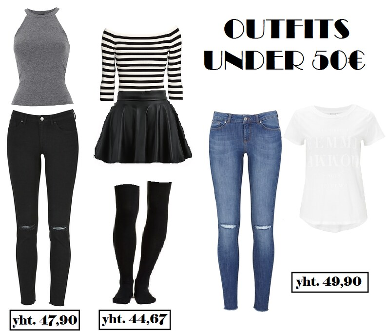 outfits under 50e