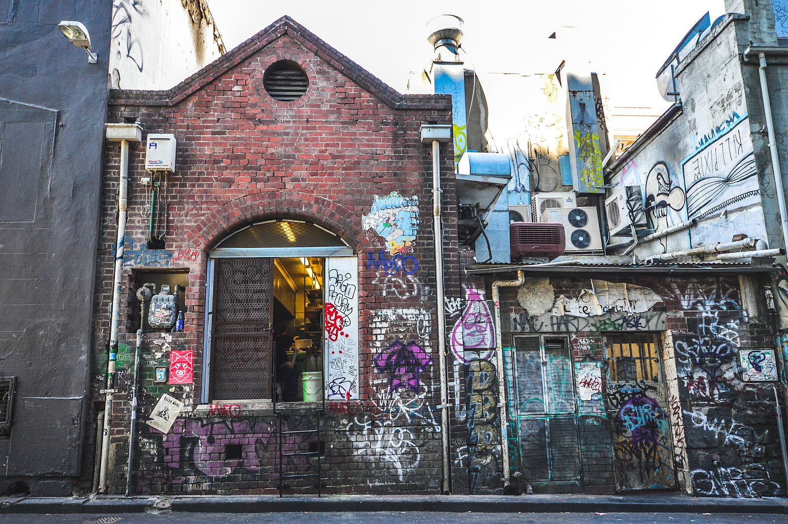 Melbourne Caledonian Lane Street Art 2015