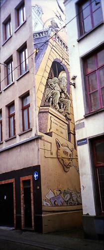Jan Bosschaert mural