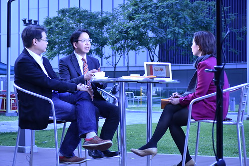 Interviewed by TVB news (2016 Policy Address)