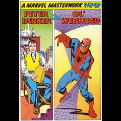Peter Parker and 'Ol Webhead. #comics #SpiderMan #Ditko