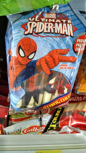 Spider-Man Cheese Sticks