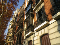 Madrid balconies