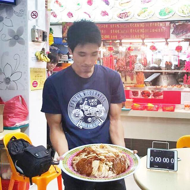 chicken rice challenge