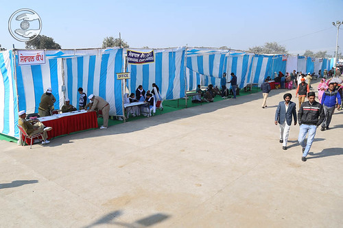 Other Important Pavilions in the Satsang Venue
