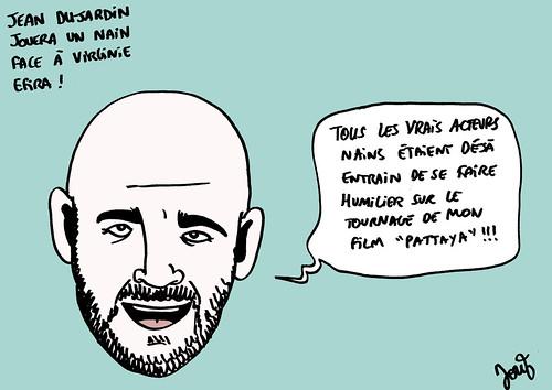 18_Jean Dujardin en nain Frank Gastambide