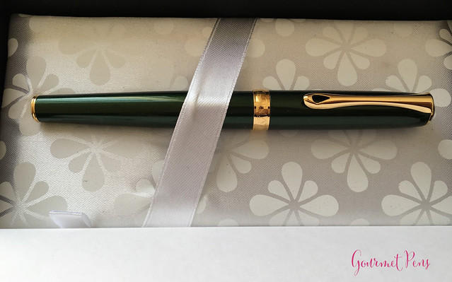 Review Diplomat Excellence A Evergreen GT Fountain Pen @AppelboomLaren (2)