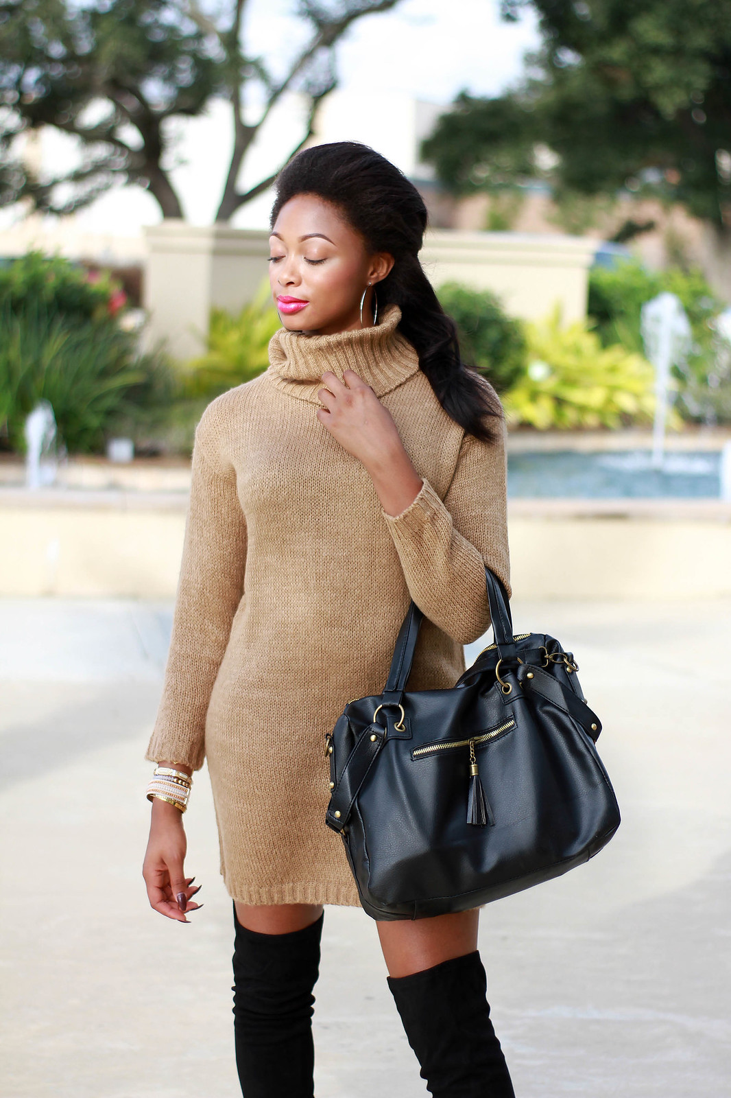 how to style camel and black