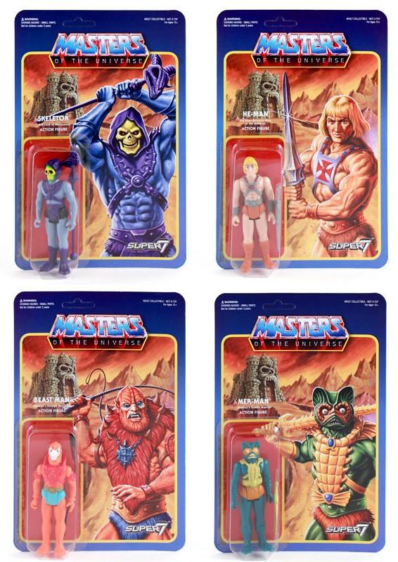 Super7【太空超人】Retro Action Figure 萬能的天神,請賜予我復古的玩具!!
