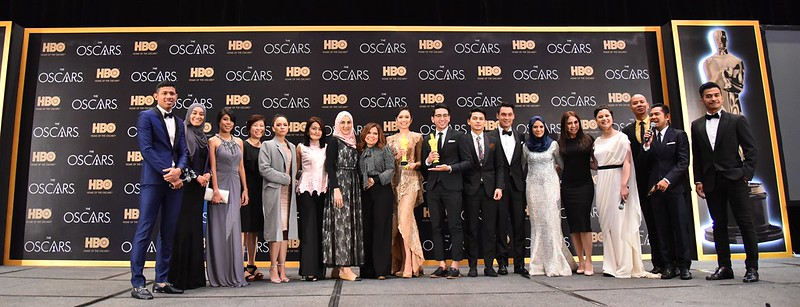 HBO live screening of the Oscars - some of the celebrities and guests at the event 01