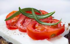 Cherry tomatoes macro