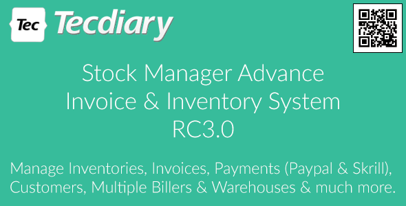 Stock Manager Advance (Invoice & Inventory System) RC3.0.2.9