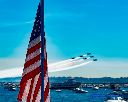 OLD GLORY AND THE BLUE ANGELS DELTA...