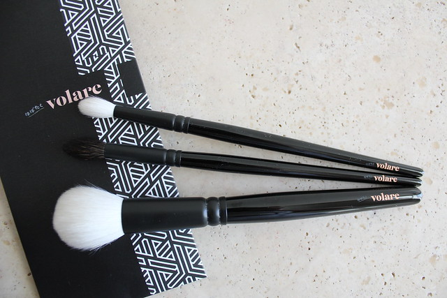 volare cosmetics brush review