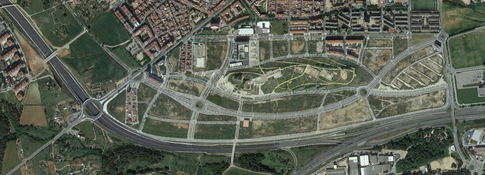 sabdadell, barcelona, parchelona, después, urbanismo, planeamiento, urbano, desastre, urbanístico, construcción, rotondas, carretera