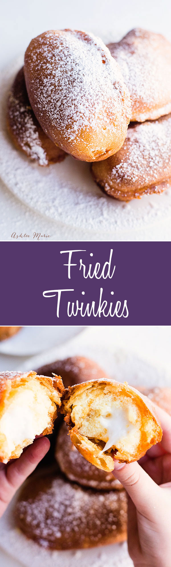 dunk a twinkie into a sweet batter and fry for a warm delicious treat - recipe and video tutorial