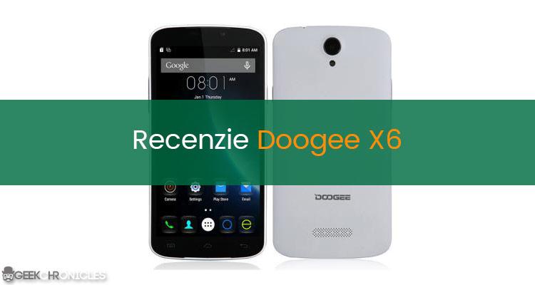 Recenzie telefon Doogee X6