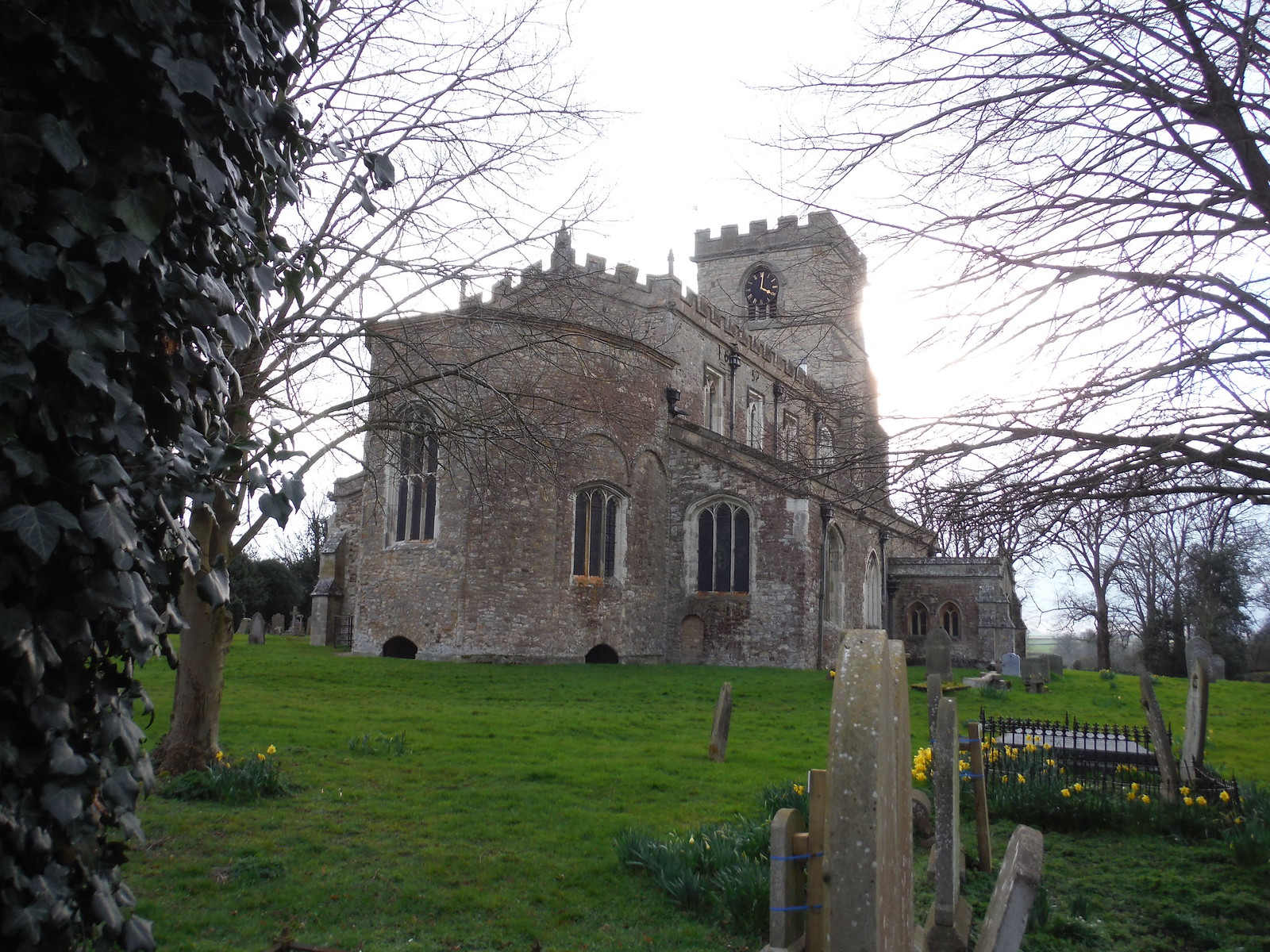 All Saints Church, Wing, with its rare octagonal apse SWC Walk Cheddington to Leighton Buzzard